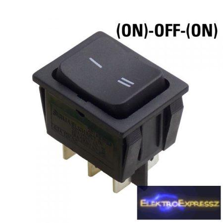 ET-5432CA 2 áramkörös 3 állású visszaálló kapcsoló