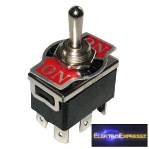 ET-5474 2 áramkörös 3 állású kapcsoló