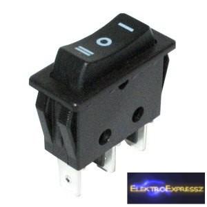 ET-5483 1 áramkörös 3 állású visszaálló billenő kapcsoló
