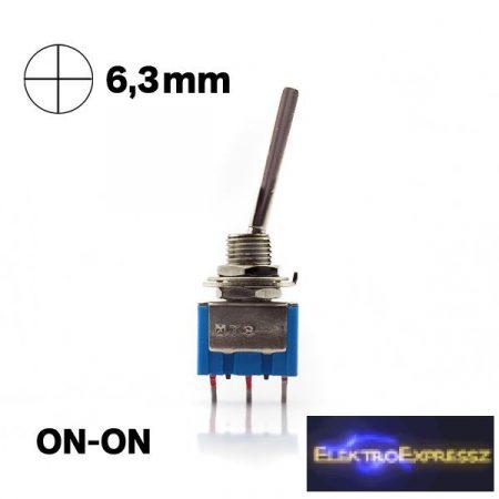 ET-5507C 1 áramkörös  2 állású karos kapcsoló