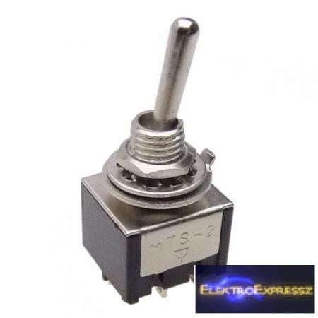 ET-5509 2 áramkörös  2 állású kapcsoló