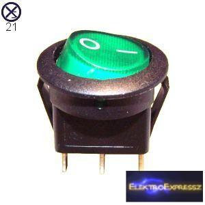 ET-5572 1 áramkörös  2 állású, világítós kapcsoló