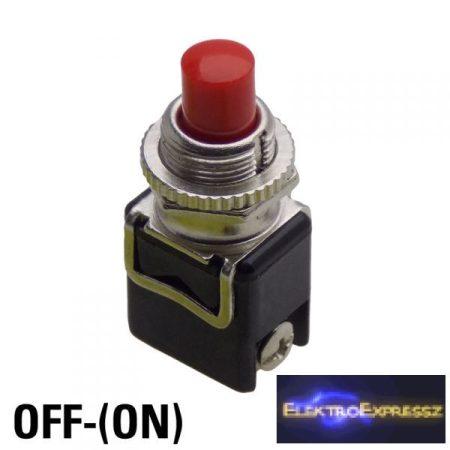 ET-5643 2 pólusú  1 áramkörös  nyomógomb, záró