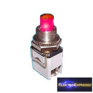 ET-5646 2 pólusú  1 áramkörös   nyomógomb
