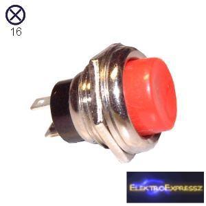 ET-5659 2 pólusú  nyomógomb, nyitó