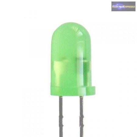 5mm zöld villogó LED.