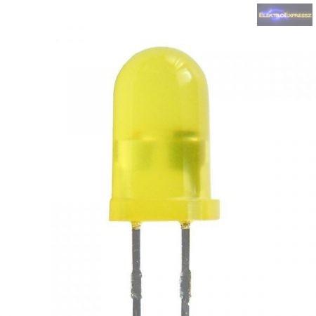 5mm sárga villogó LED.