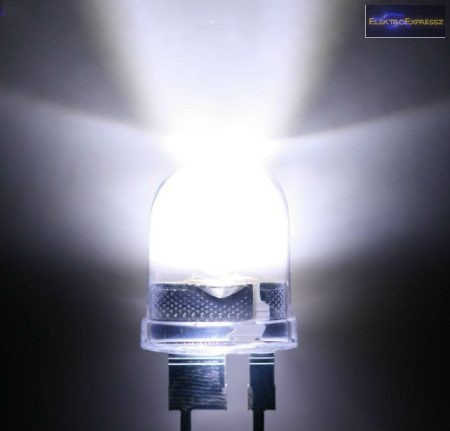 8mm fehér LED.