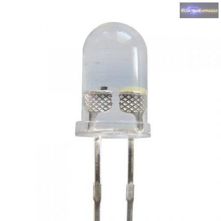 5mm villogó LED fehér