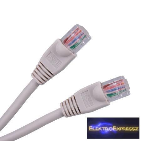 LP-KPO2779-10 UTP lengő , szerelt Patch kábel 10m