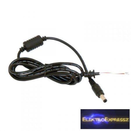 ET-92449 DC szerelt kábel 1,2m 2,1/5,5mm