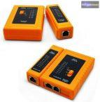 LAN kábeltesztelő műszer RJ45, RJ12, RJ11
