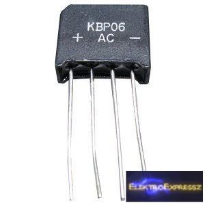 ET-KBP06 graetz dióda 1.5A/600V graetz