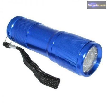 Led lámpa 9 ledes kék