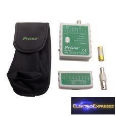 ET-MT-7058 LAN kábel tesztelő és érintés nélküli feszültség kereső