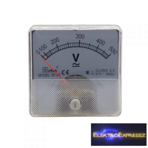 ET-SF6014 Analóg AC / DC feszültségmérő