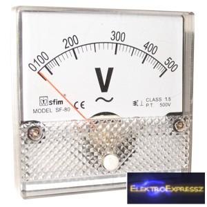 ET-SF8013 Analóg AC / DC feszültségmérő