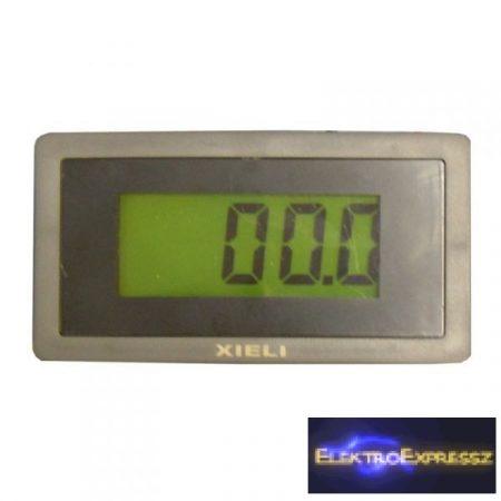 ET-XL34LCDV-4G Digitális DC feszültség mérő 0-400V