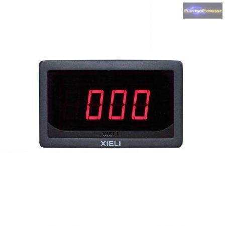 Digitális DC ampermérő 0-5.00A