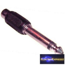 ET-4039 RCA aljzat-6,3mm monó jack dugó