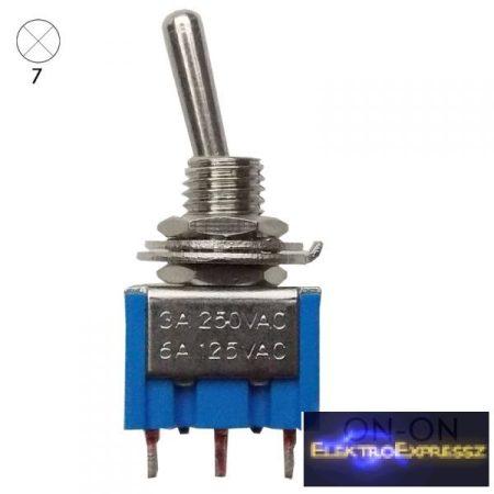 ET-5507 1 áramkörös  2 állású  kapcsoló