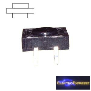 ET-5605 4 pólusú  mikrokapcsoló Mérete: 12*12mm