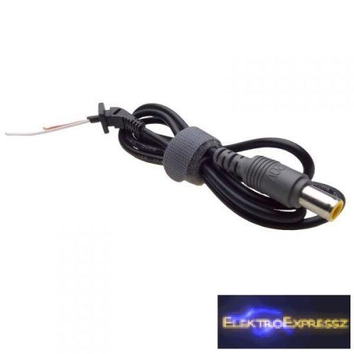 ET-92820 DC szerelt kábel IBM LENOVO 7,9 x 5,5mm 1,2m