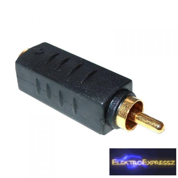 ET-SA055 4p mini-DIN aljzat - RCA dugó adapter