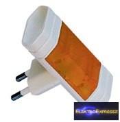 GE-6011 Adapter irányfényes EURO ELOSZTÓ 2-ES VILÁGÍTÓ SOLERA