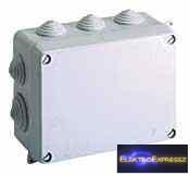 GE-616 Doboz átm 153X110X60mm IP55 Falra szerelhető kötődoboz SOLERA