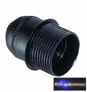GE-6829CTN Csillár foglalat E27 fekete félig menetes SOLERA