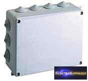 GE-686 Doboz átm 220x170x80mm IP55 Falra szerelhető kötődoboz SOLERA