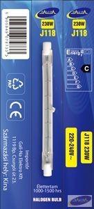 GE-J118240V230W Eco-halogén izzó 118mm 240V 230W