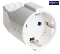 GE-5019 53. Dugalj lengő műanyag, fehér Solera