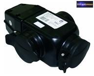 GE-5586OB-1 90. Hármas gumi lengő csatlakozó 3x2P+F IP44