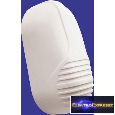 GE-VID02-230V Csengő normál Méret: 125x65x50