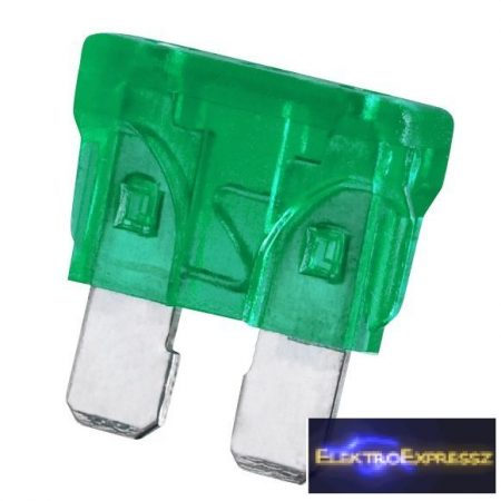 GA-05350 - Késes biztosíték 30A • zöld színben