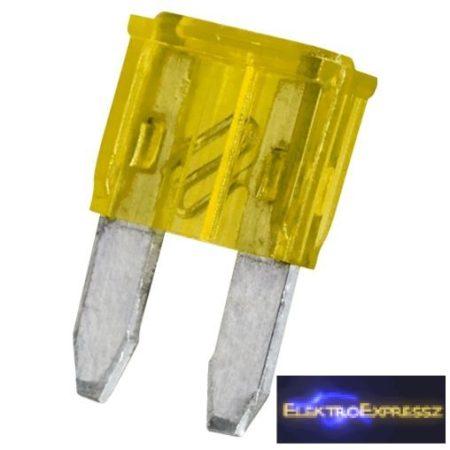 GA-05366 Mini késes biztosíték 11x8,6mm 20A