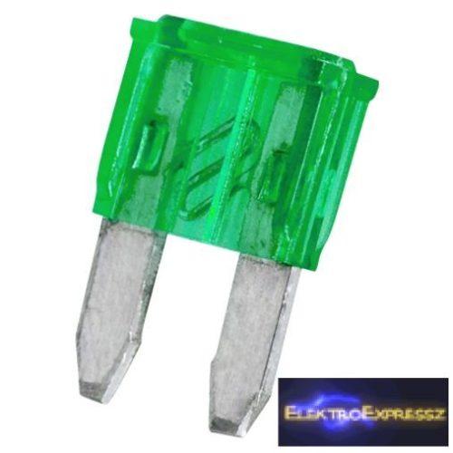 GA-05368 Mini késes biztosíték 11x8,6mm 30A