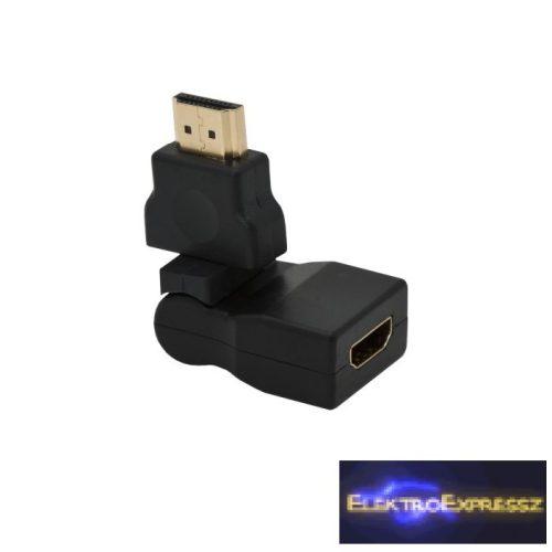 GA-05736 HDMI átalakító , adapter HDMI dugó - HDMI aljzat forgatható és dönthető