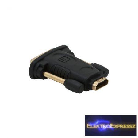 GA-05740 DVI / HDMI átalakító , adapter HDMI aljzat – DVI dugó aranyozott