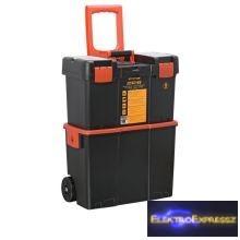 GA-10932 - Húzható, többrészes műanyag szerszámláda