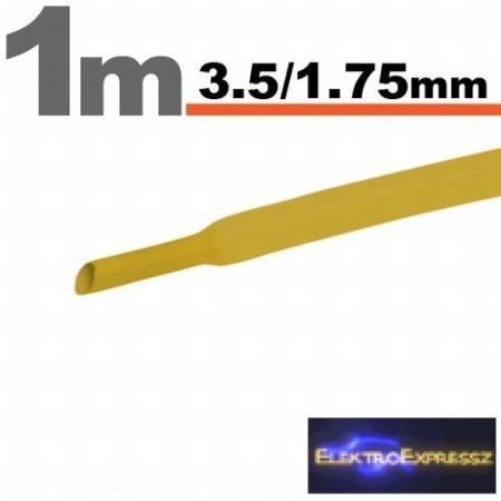 GA-11021S Zsugorcső Sárga • 3,5 / 1,75 mm