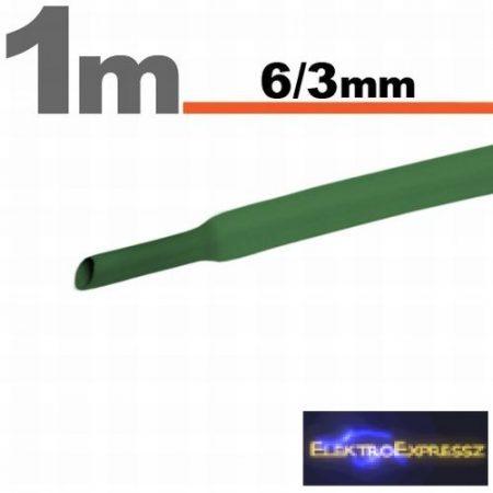 GA-11022Z Zsugorcső Zöld • 6 / 3 mm