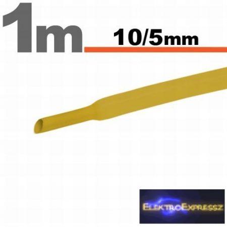 GA-11023S Zsugorcső Sárga • 10 / 5 mm