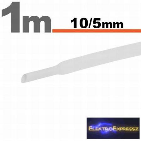GA-11023W Zsugorcső Fehér • 10 / 5 mm