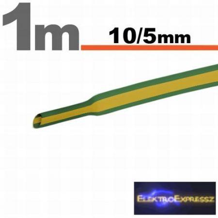 GA-11023X Zsugorcső zöld-sárga • 10 / 5 mm