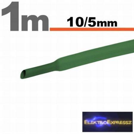 GA-11023Z Zsugorcső Zöld • 10 / 5 mm