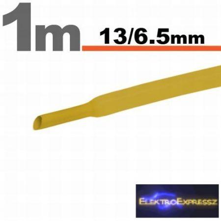GA-11024S Zsugorcső Sárga • 13 / 6,5 mm