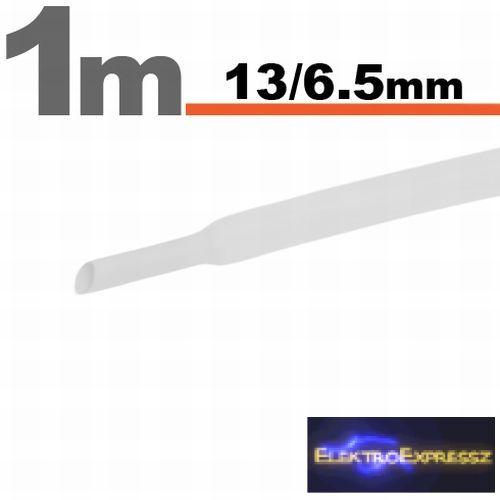 GA-11024W Zsugorcső Fehér • 13 / 6,5 mm